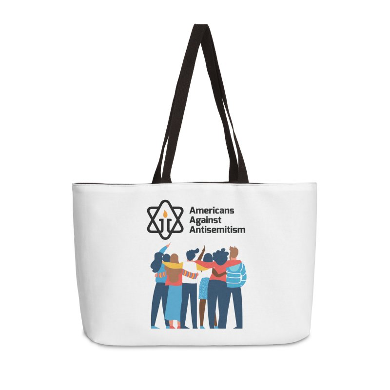 United Against Hate - Americans Against Antisemitism Accessories Weekender Bag Bag by Americans Against Antisemitism's Artist Shop