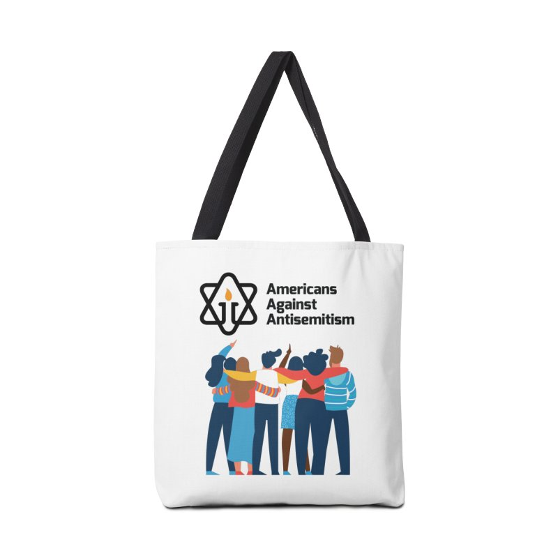 United Against Hate - Americans Against Antisemitism Accessories Tote Bag Bag by Americans Against Antisemitism's Artist Shop
