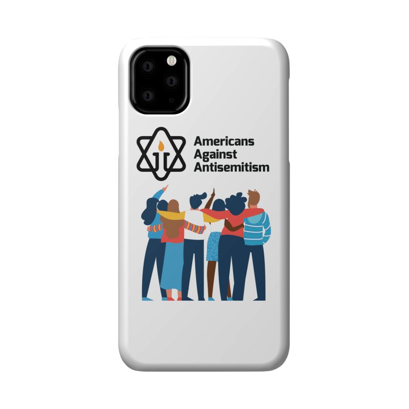 United Against Hate - Americans Against Antisemitism Accessories Phone Case by Americans Against Antisemitism's Artist Shop