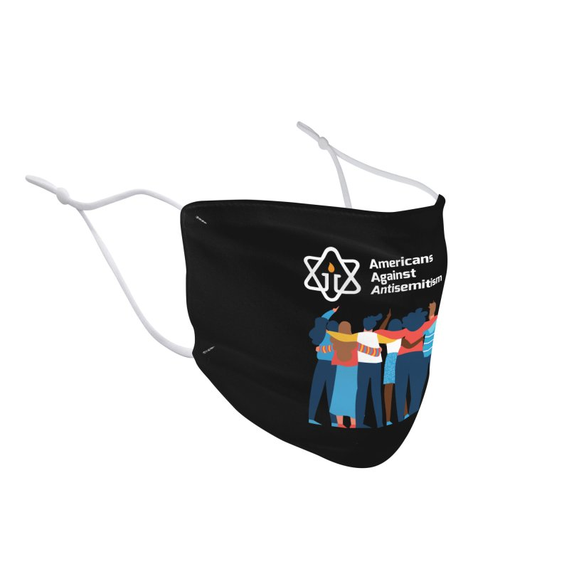 United Against Hate - Dark Backgrounds Accessories Face Mask by Americans Against Antisemitism's Artist Shop