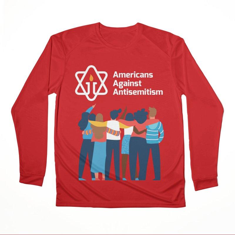 United Against Hate - Dark Backgrounds Men's Performance Longsleeve T-Shirt by Americans Against Antisemitism's Artist Shop