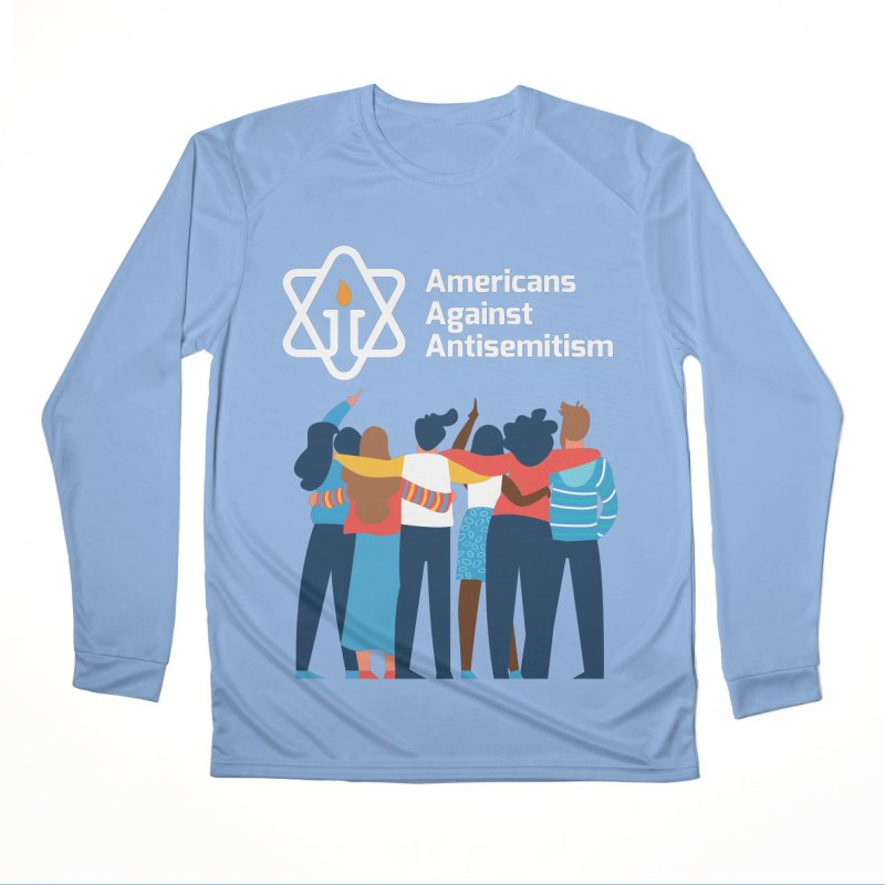 United Against Hate - Dark Backgrounds Women's Performance Unisex Longsleeve T-Shirt by Americans Against Antisemitism's Artist Shop