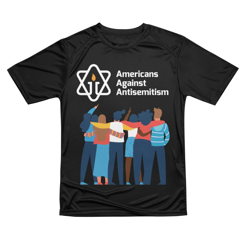 United Against Hate - Dark Backgrounds Women's Performance Unisex T-Shirt by Americans Against Antisemitism's Artist Shop