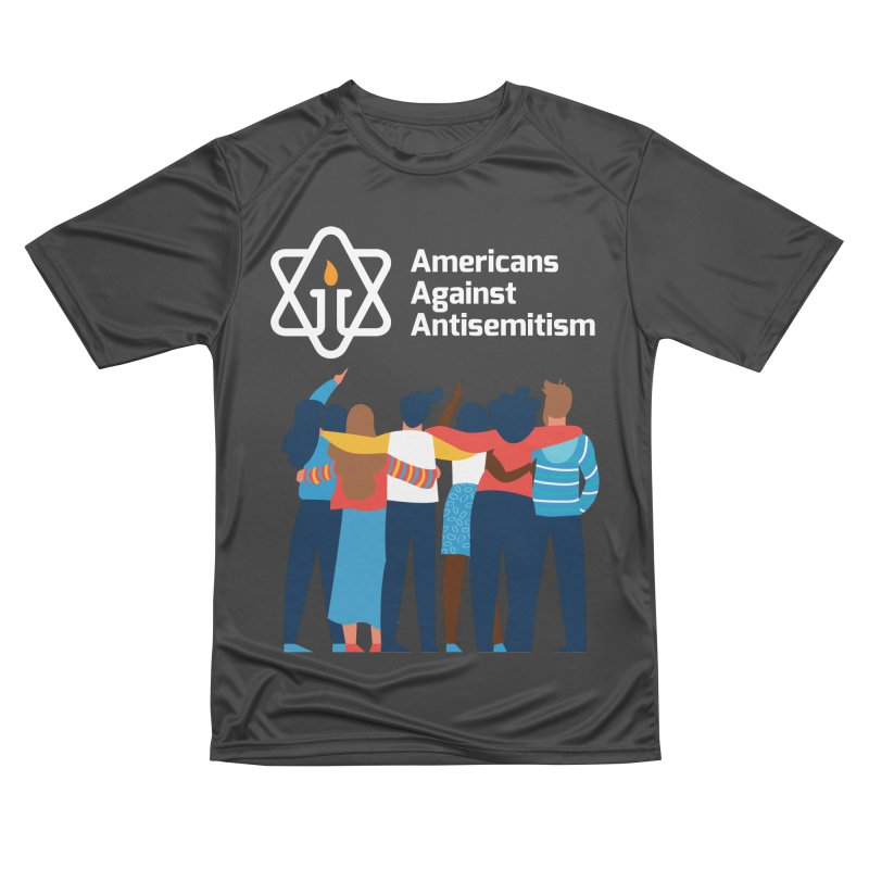 United Against Hate - Dark Backgrounds Men's Performance T-Shirt by Americans Against Antisemitism's Artist Shop