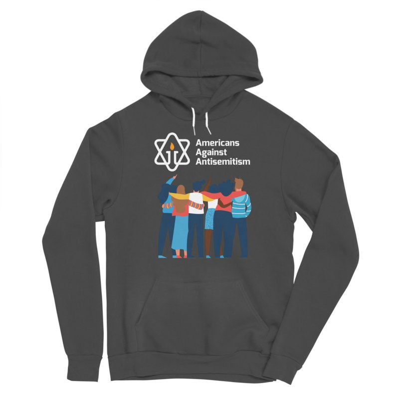 United Against Hate - Dark Backgrounds Women's Sponge Fleece Pullover Hoody by Americans Against Antisemitism's Artist Shop