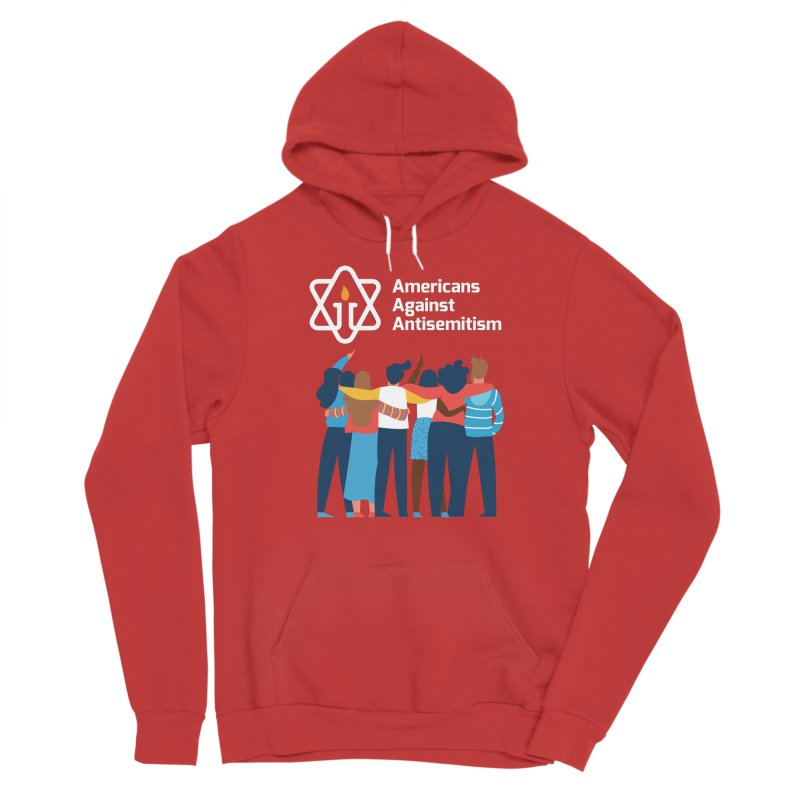 United Against Hate - Dark Backgrounds Women's Pullover Hoody by Americans Against Antisemitism's Artist Shop