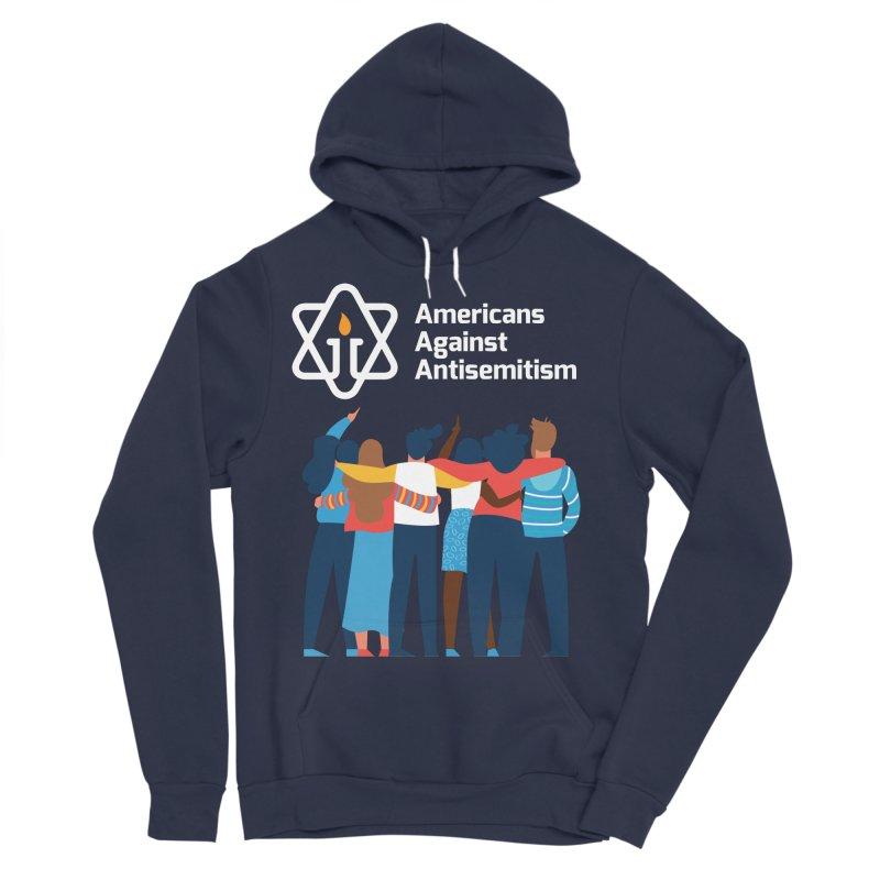 United Against Hate - Dark Backgrounds Men's Sponge Fleece Pullover Hoody by Americans Against Antisemitism's Artist Shop