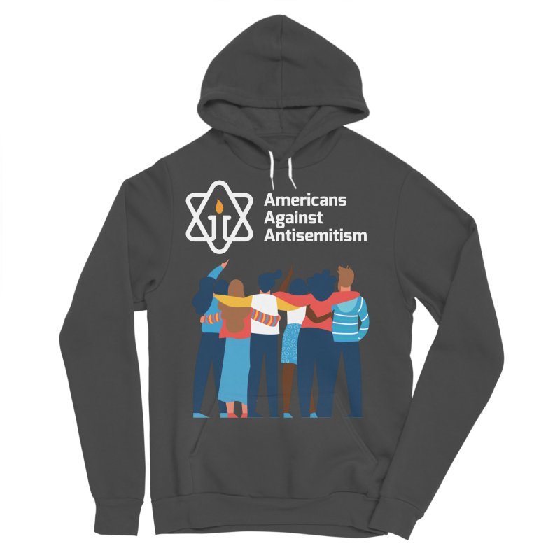 United Against Hate - Dark Backgrounds Men's Sponge Fleece Pullover Hoody by Americans Against Antisemitism's Artist Shop