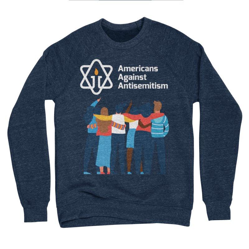 United Against Hate - Dark Backgrounds Women's Sponge Fleece Sweatshirt by Americans Against Antisemitism's Artist Shop