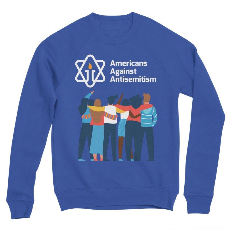 United Against Hate - Dark Backgrounds Men's Sweatshirt by Americans Against Antisemitism's Artist Shop