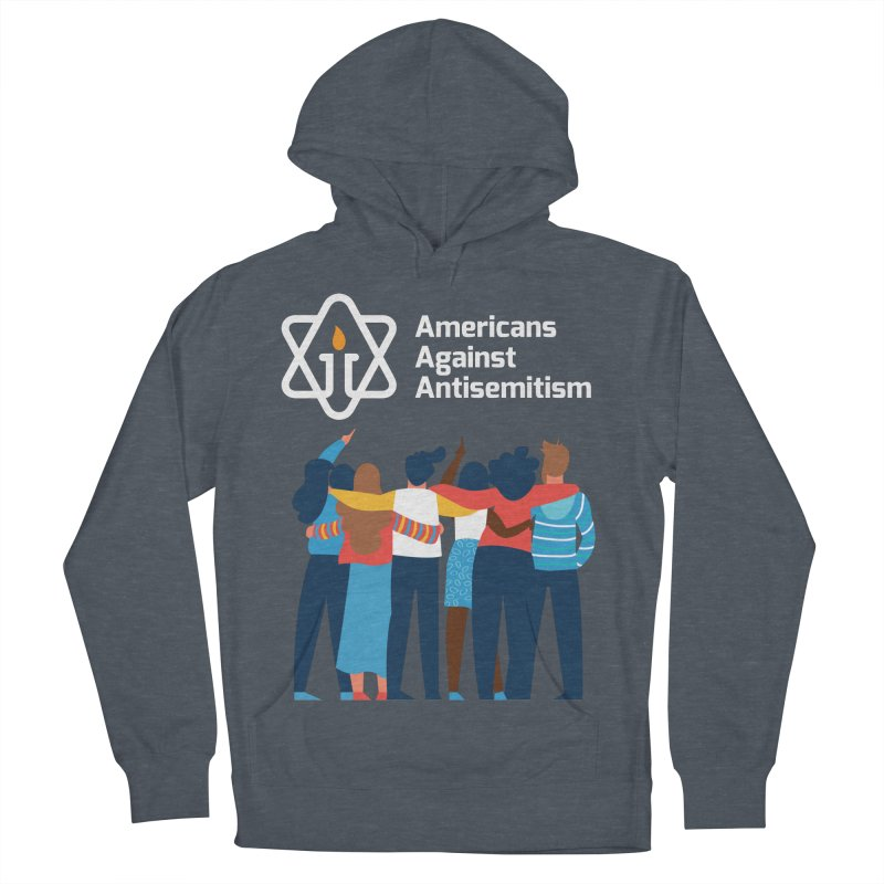 United Against Hate - Dark Backgrounds Women's French Terry Pullover Hoody by Americans Against Antisemitism's Artist Shop