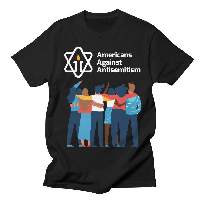 United Against Hate - Dark Backgrounds Women's Regular Unisex T-Shirt by Americans Against Antisemitism's Artist Shop