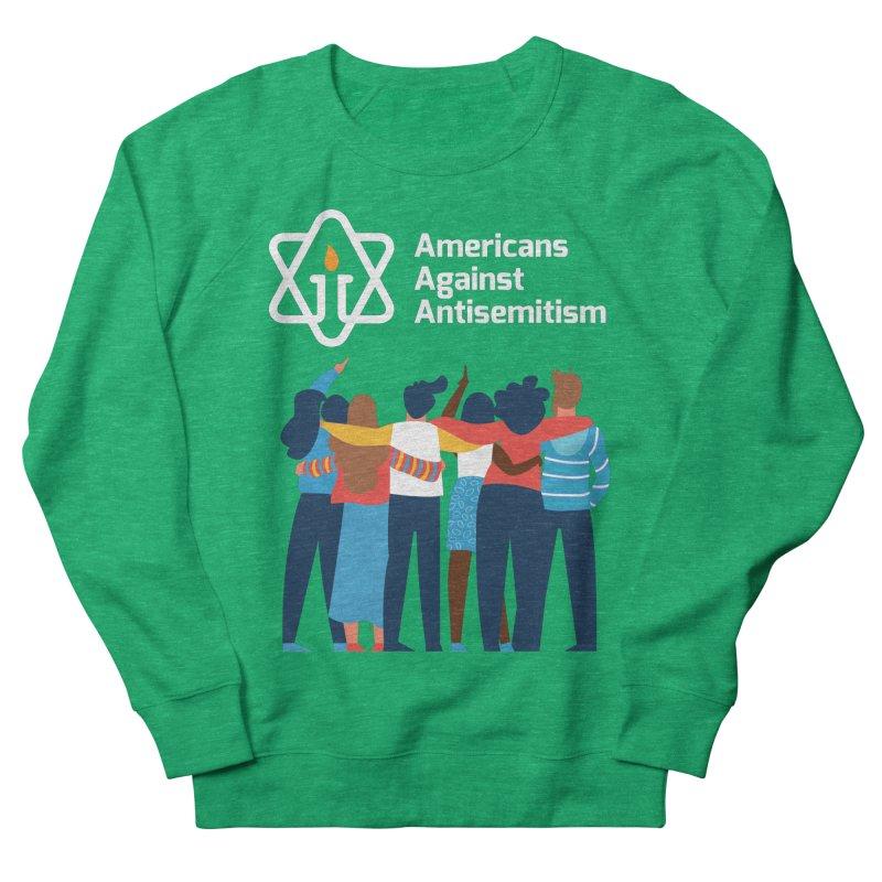 United Against Hate - Dark Backgrounds Women's Sweatshirt by Americans Against Antisemitism's Artist Shop