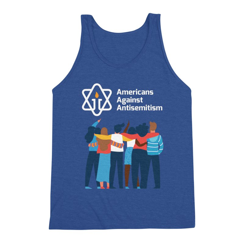 United Against Hate - Dark Backgrounds Men's Tank by Americans Against Antisemitism's Artist Shop