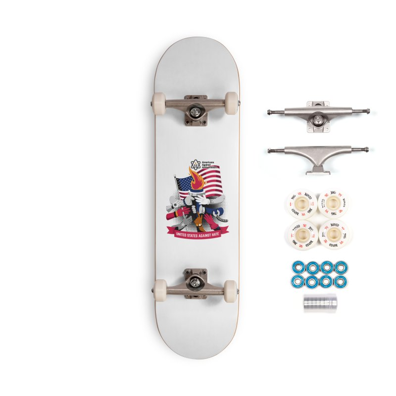 United States Against Hate Accessories Complete - Premium Skateboard by Americans Against Antisemitism's Artist Shop