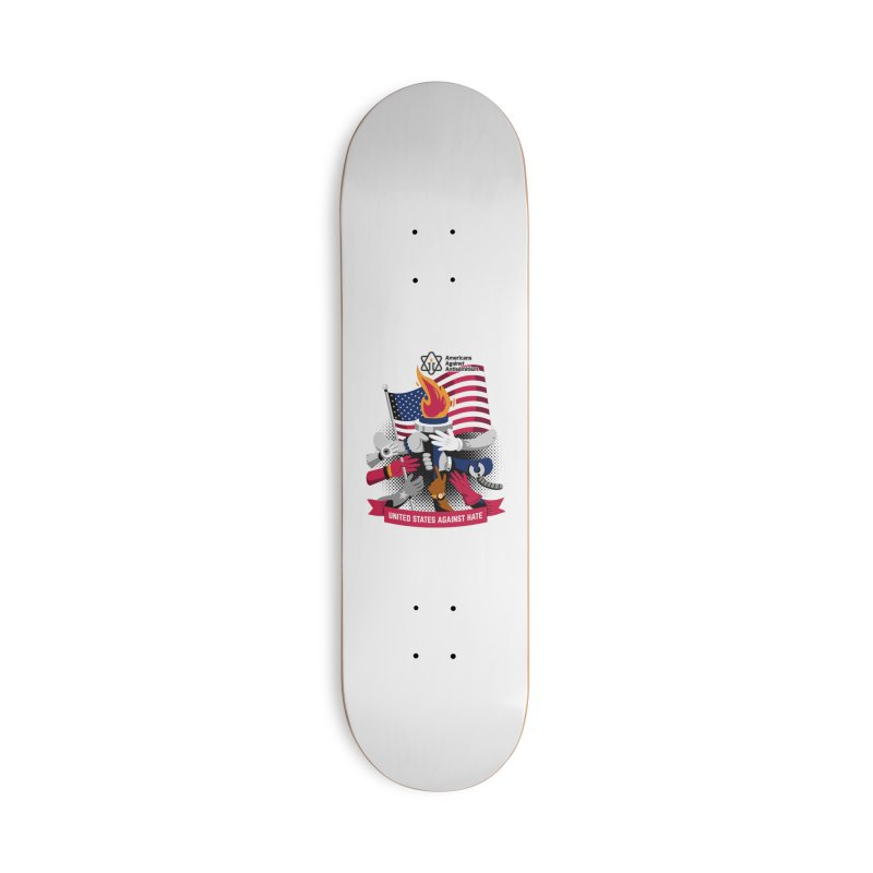 United States Against Hate Accessories Deck Only Skateboard by Americans Against Antisemitism's Artist Shop