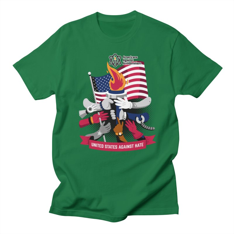 United States Against Hate Women's T-Shirt by Americans Against Antisemitism's Artist Shop
