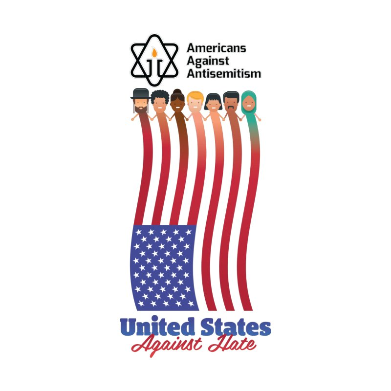 United Faces Against Hate by Americans Against Antisemitism's Artist Shop