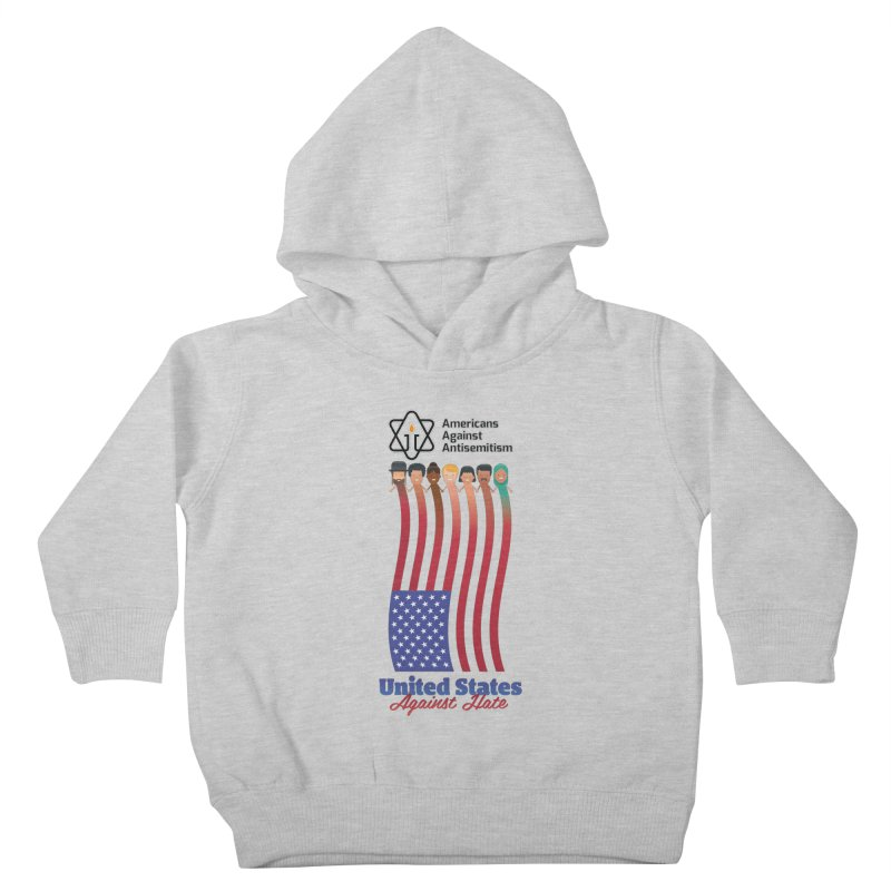 United Faces Against Hate Kids Toddler Pullover Hoody by Americans Against Antisemitism's Artist Shop