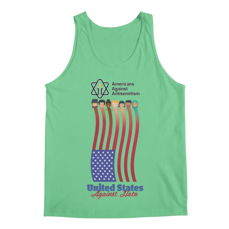 United Faces Against Hate Men's Regular Tank by Americans Against Antisemitism's Artist Shop