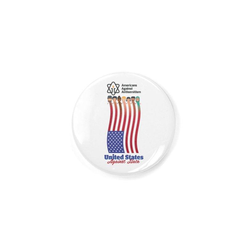 United Faces Against Hate Accessories Button by Americans Against Antisemitism's Artist Shop