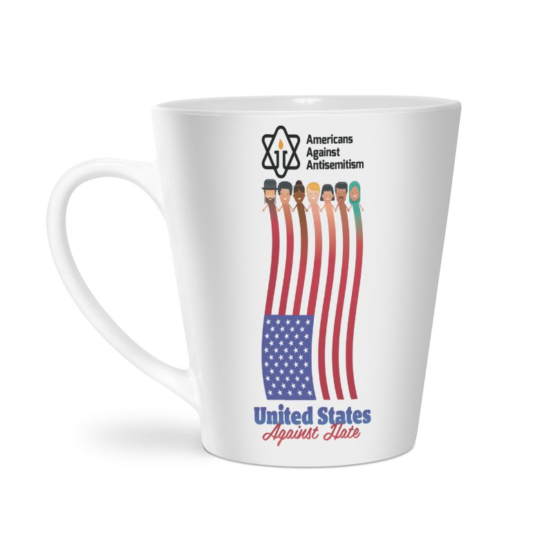 United Faces Against Hate Accessories Latte Mug by Americans Against Antisemitism's Artist Shop