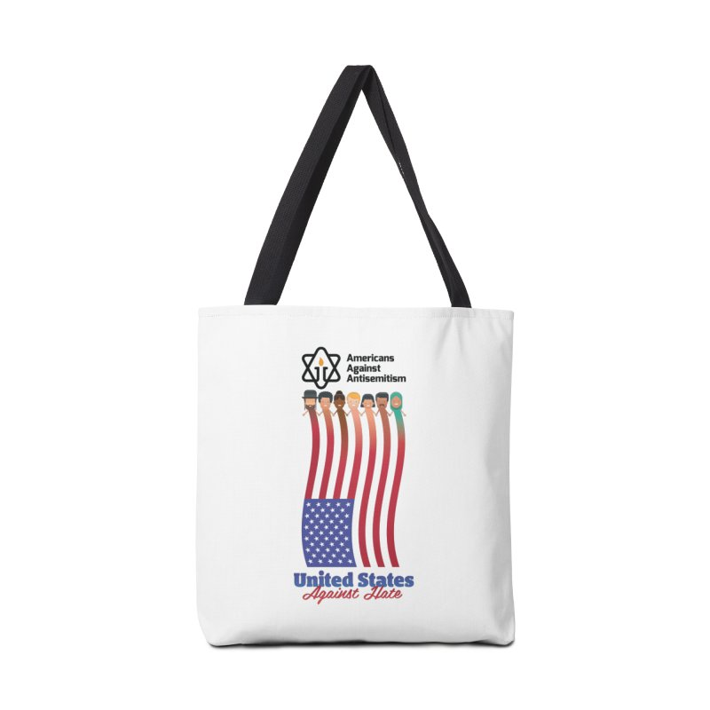 United Faces Against Hate Accessories Tote Bag Bag by Americans Against Antisemitism's Artist Shop