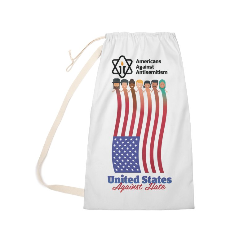 United Faces Against Hate Accessories Laundry Bag Bag by Americans Against Antisemitism's Artist Shop