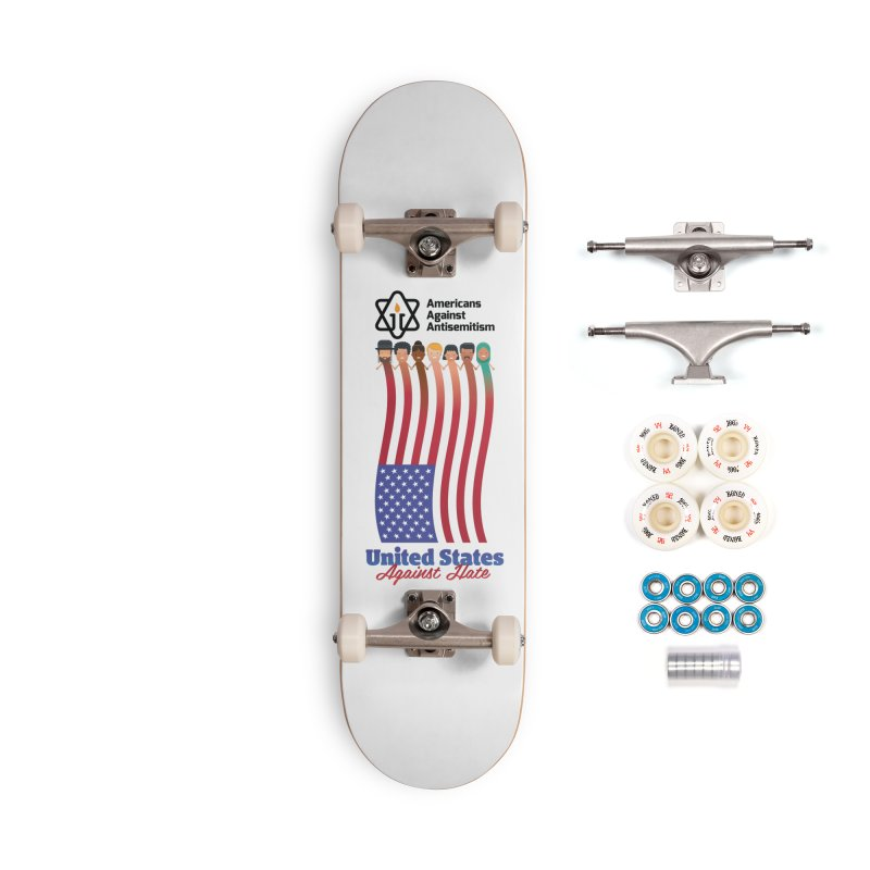 United Faces Against Hate Accessories Complete - Premium Skateboard by Americans Against Antisemitism's Artist Shop