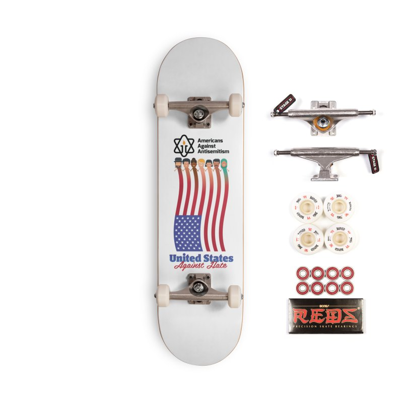 United Faces Against Hate Accessories Complete - Pro Skateboard by Americans Against Antisemitism's Artist Shop