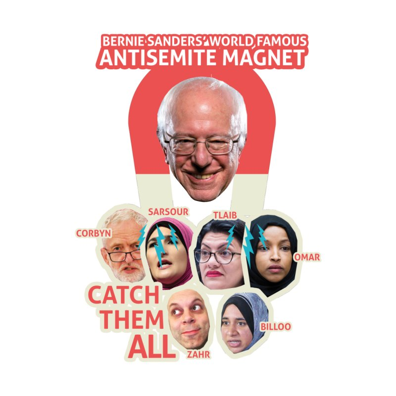 Antisemite Magnet Accessories Magnet by Americans Against Antisemitism's Artist Shop
