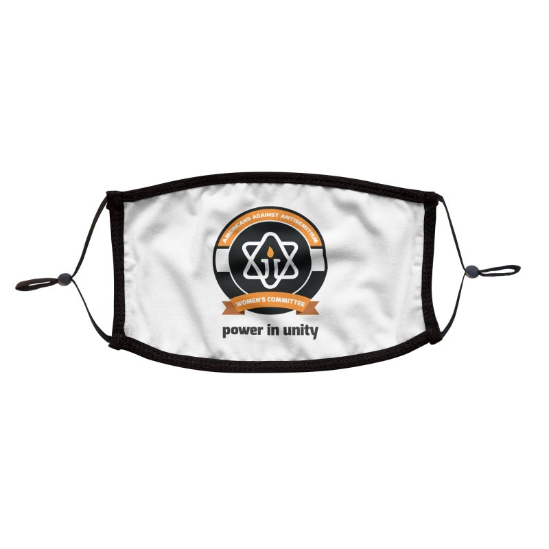 Women's Committee of Americans Against Antisemitism Accessories Face Mask by Americans Against Antisemitism's Artist Shop