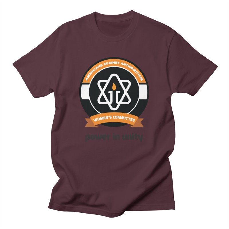 Women's Committee of Americans Against Antisemitism Men's T-Shirt by Americans Against Antisemitism's Artist Shop