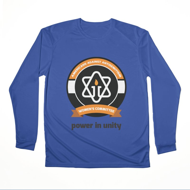 Women's Committee of Americans Against Antisemitism Men's Performance Longsleeve T-Shirt by Americans Against Antisemitism's Artist Shop