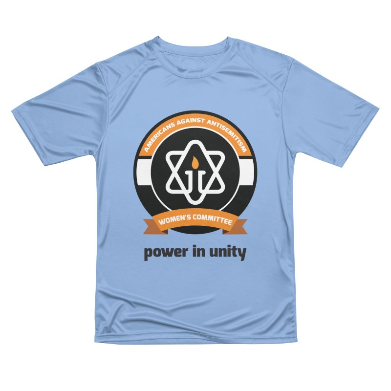 Women's Committee of Americans Against Antisemitism Women's Performance Unisex T-Shirt by Americans Against Antisemitism's Artist Shop