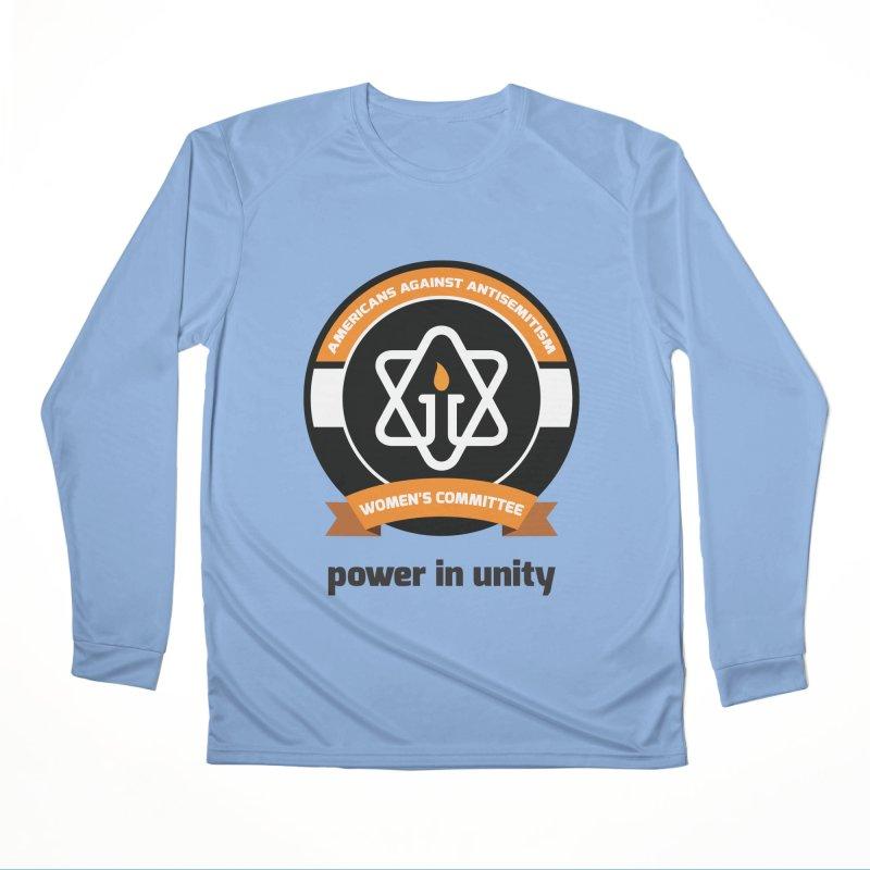 Women's Committee of Americans Against Antisemitism Women's Longsleeve T-Shirt by Americans Against Antisemitism's Artist Shop