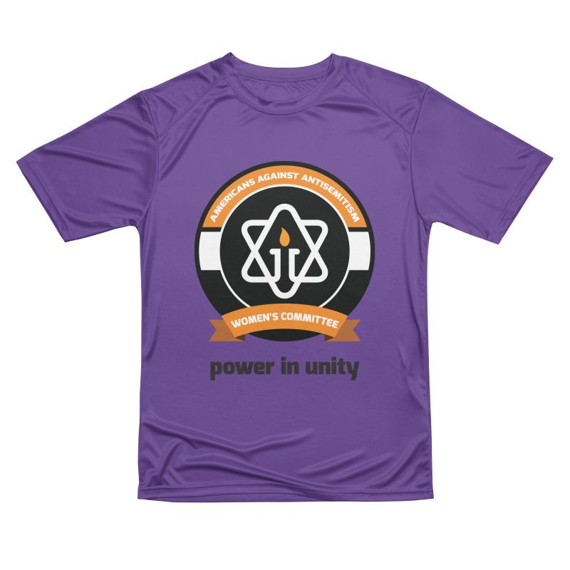 Women's Committee of Americans Against Antisemitism Men's Performance T-Shirt by Americans Against Antisemitism's Artist Shop