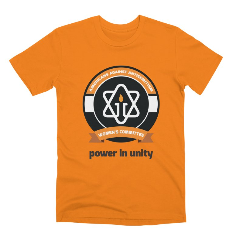 Women's Committee of Americans Against Antisemitism Men's Premium T-Shirt by Americans Against Antisemitism's Artist Shop