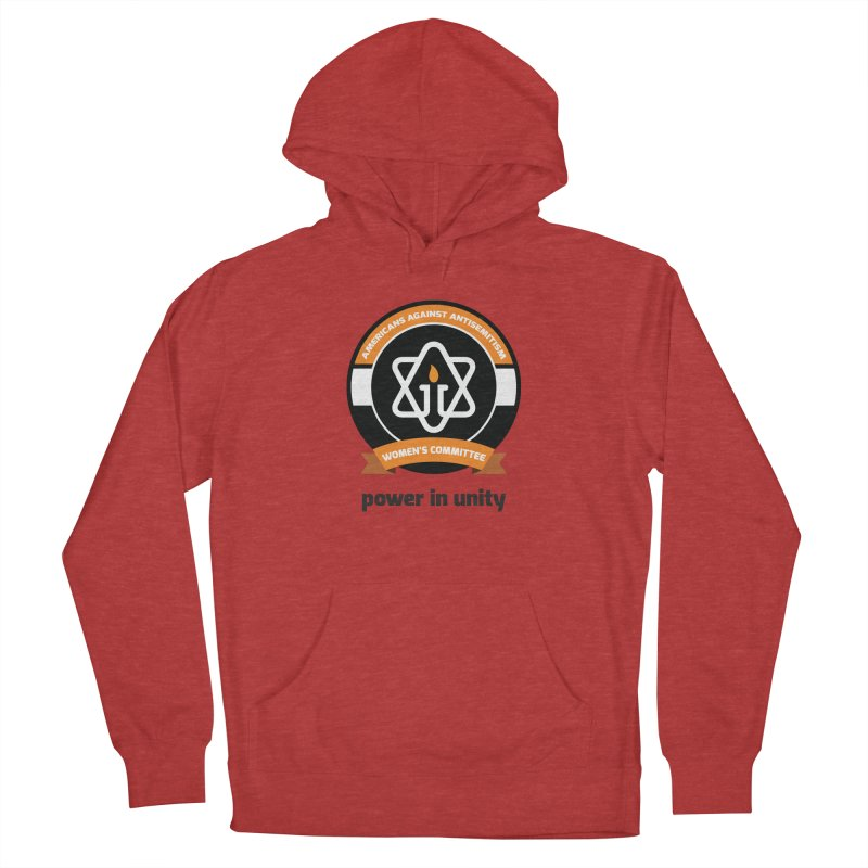 Women's Committee of Americans Against Antisemitism Women's French Terry Pullover Hoody by Americans Against Antisemitism's Artist Shop