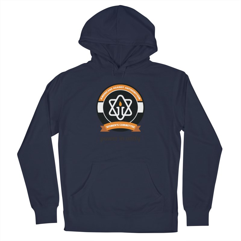 Women's Committee of Americans Against Antisemitism Men's Pullover Hoody by Americans Against Antisemitism's Artist Shop