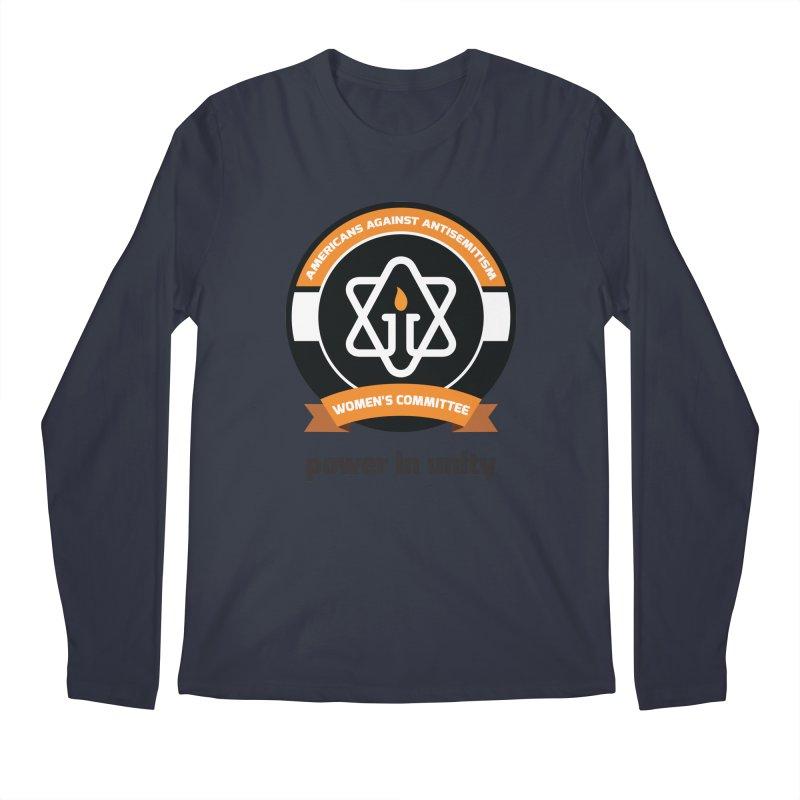 Women's Committee of Americans Against Antisemitism Men's Longsleeve T-Shirt by Americans Against Antisemitism's Artist Shop