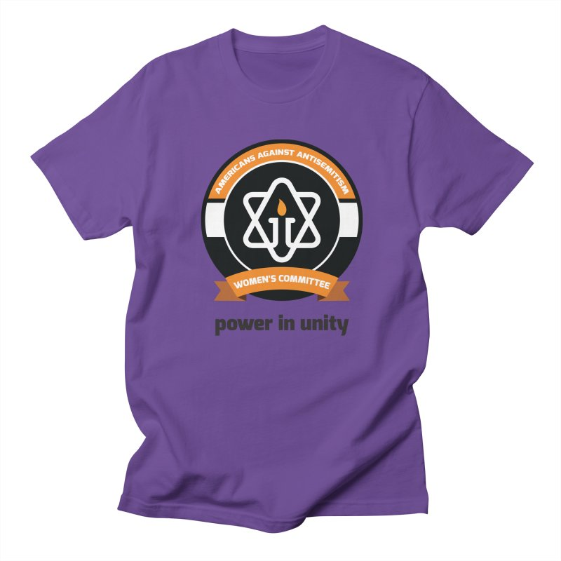 Women's Committee of Americans Against Antisemitism Men's Regular T-Shirt by Americans Against Antisemitism's Artist Shop
