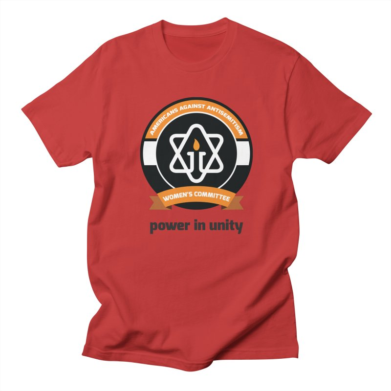 Women's Committee of Americans Against Antisemitism Women's Regular Unisex T-Shirt by Americans Against Antisemitism's Artist Shop