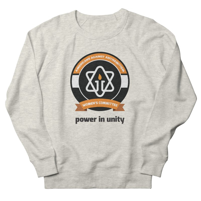 Women's Committee of Americans Against Antisemitism Women's French Terry Sweatshirt by Americans Against Antisemitism's Artist Shop