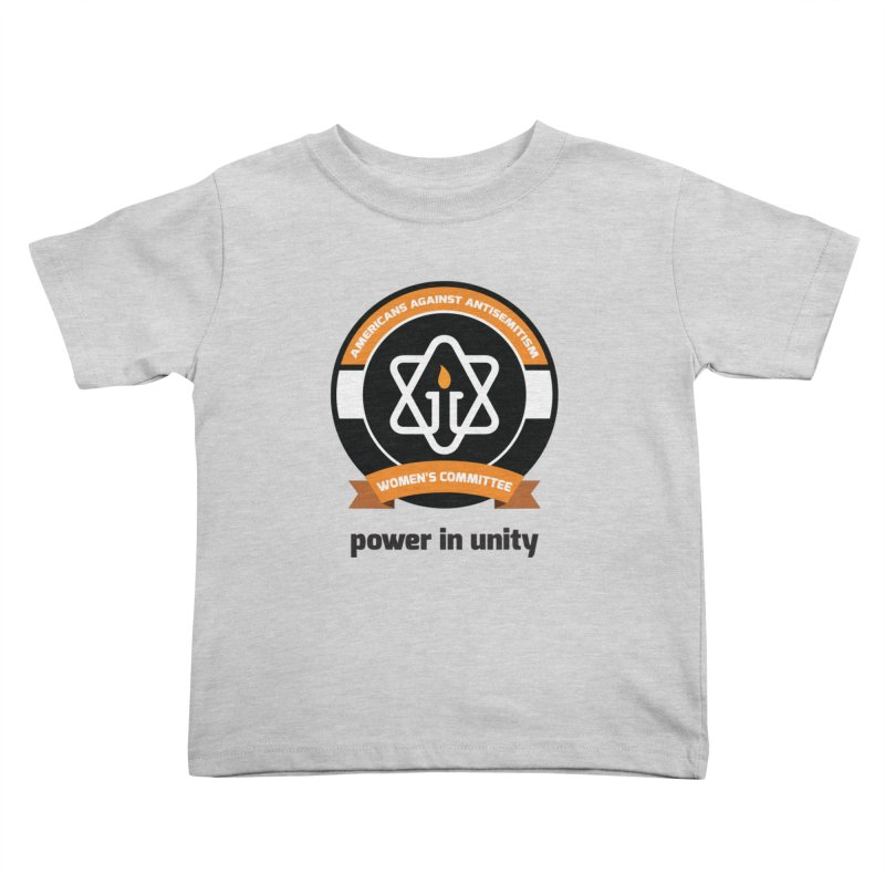 Women's Committee of Americans Against Antisemitism Kids Toddler T-Shirt by Americans Against Antisemitism's Artist Shop