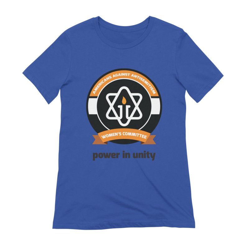 Women's Committee of Americans Against Antisemitism Women's T-Shirt by Americans Against Antisemitism's Artist Shop