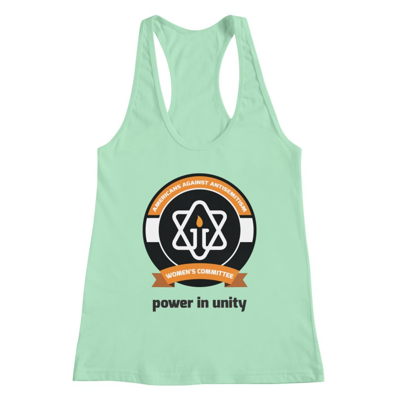 Women's Committee of Americans Against Antisemitism Women's Racerback Tank by Americans Against Antisemitism's Artist Shop