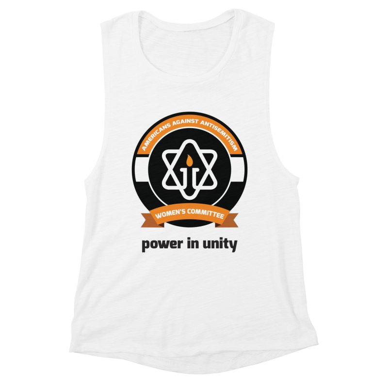 Women's Committee of Americans Against Antisemitism Women's Tank by Americans Against Antisemitism's Artist Shop