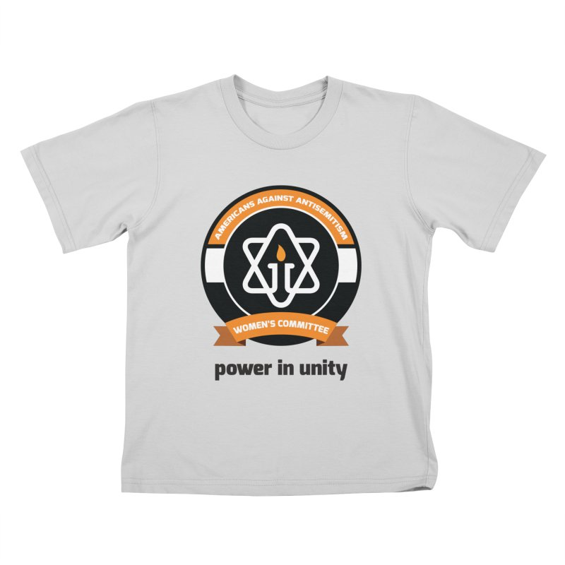 Women's Committee of Americans Against Antisemitism Kids T-Shirt by Americans Against Antisemitism's Artist Shop