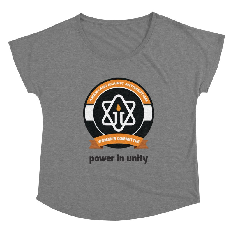 Women's Committee of Americans Against Antisemitism Women's Scoop Neck by Americans Against Antisemitism's Artist Shop